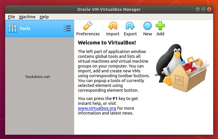 Ubuntu 18.04にVirtualboxをインストールする