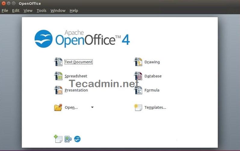Ubuntu 20.04にOpenOfficeをインストールする