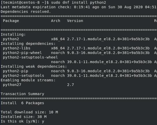 CentOSにPython2をインストールする