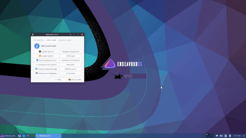 エンデバーLinux OS