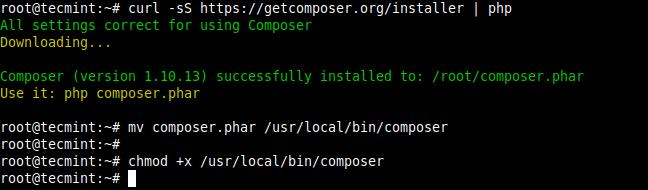 UbuntuにComposerをインストールする