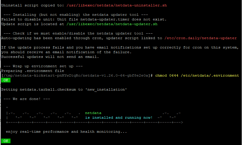 Netdataインストールの概要