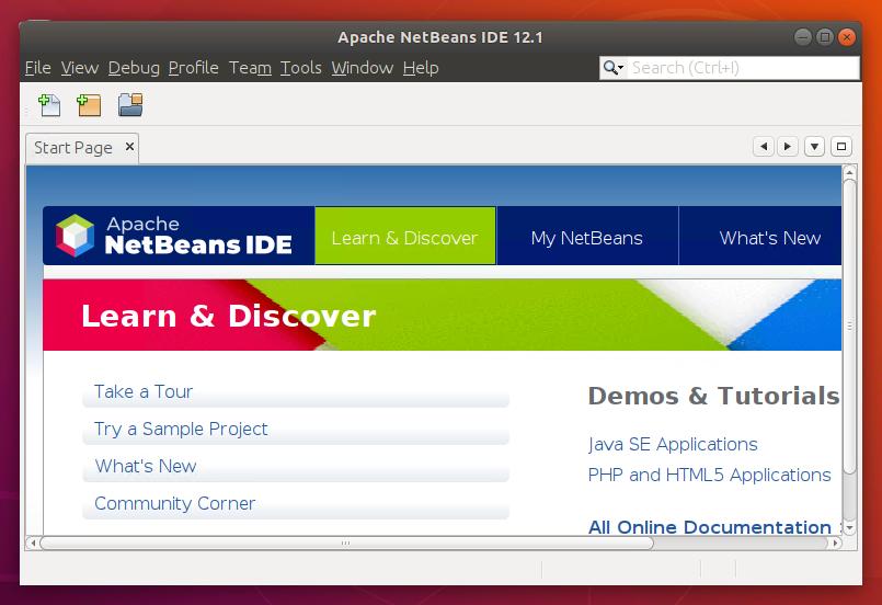 Ubuntu18.04へのNetBeansのインストール