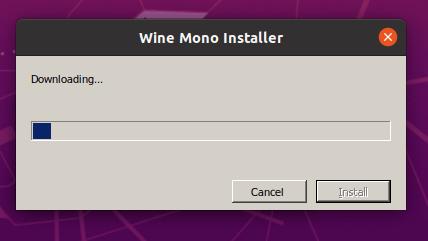 WineMonoインストーラーのダウンロード