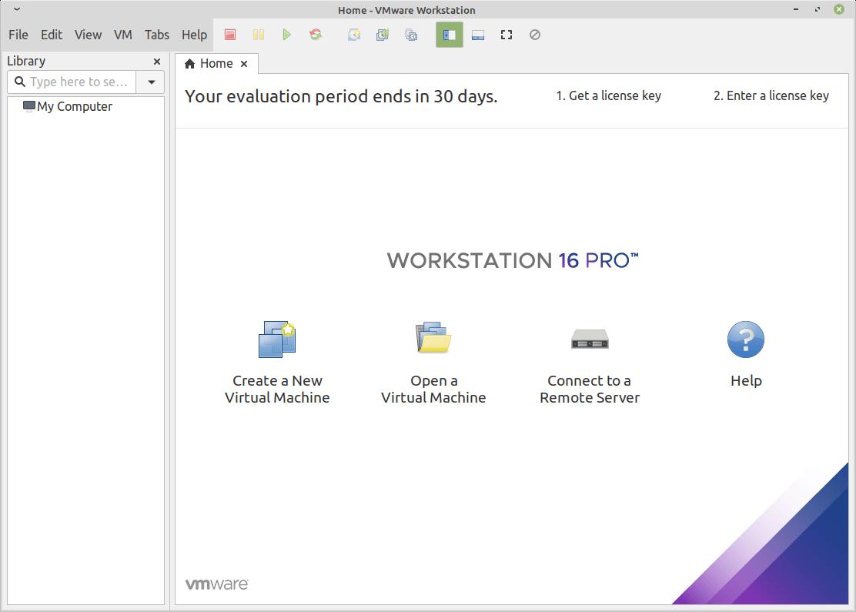 VMWareワークステーション