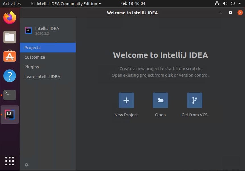 Ubuntu20.04へのIntellijのインストール