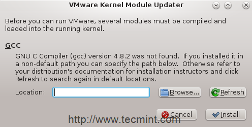 VMWareカーネルモジュールアップデータ