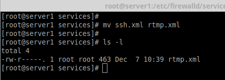 Firewalldにサービスを追加