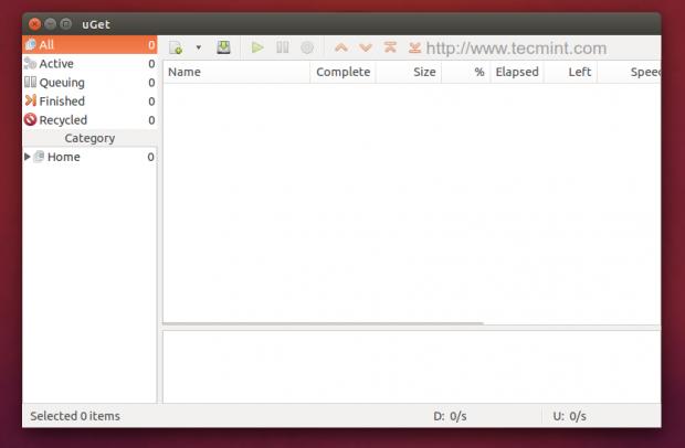 UbuntuにuGetをインストールする