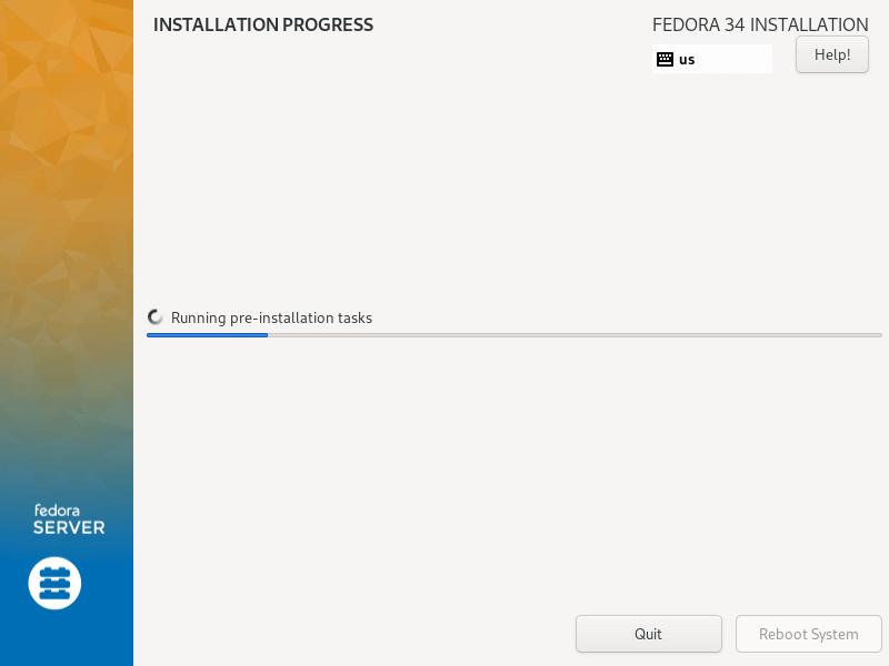 Fedoraのインストール