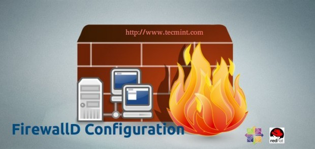 FirewallDの設定と使用